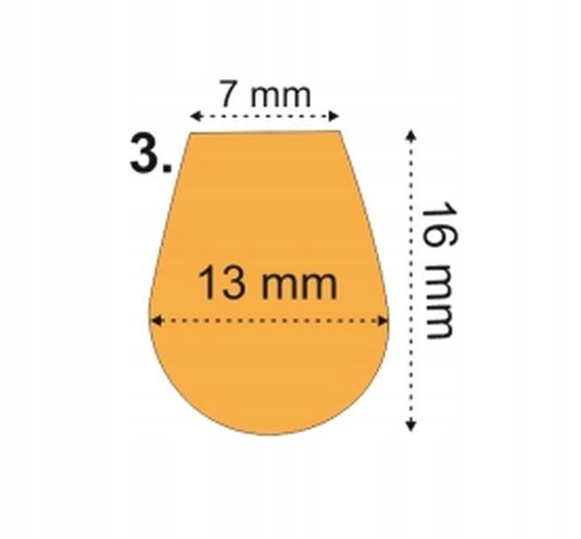 Stery do woblerów poliwęglan - model M03