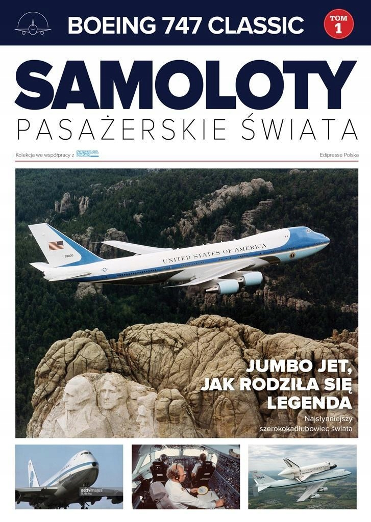 SAMOLOTY PASAŻERSKIE ŚWIATA T.1 BOEING 747 CLASSIC