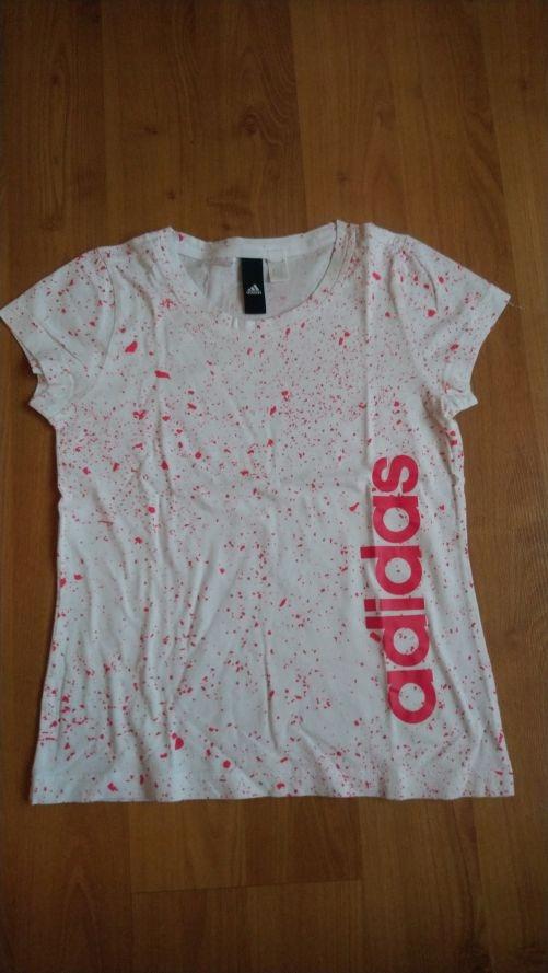 koszulka adidas 10lat + dla dziewczynki