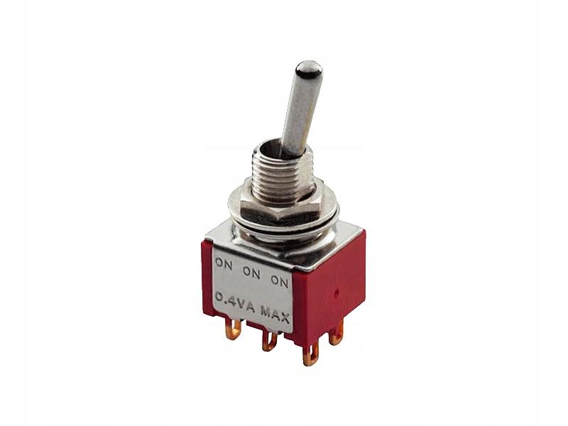 Przełącznik MEC 80002 mini toggle On/On (CR)