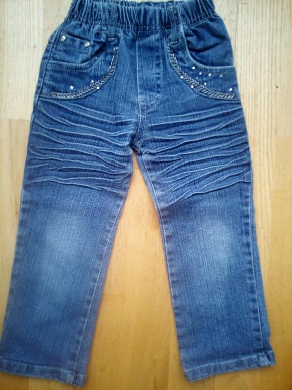 spodnie jeans 104