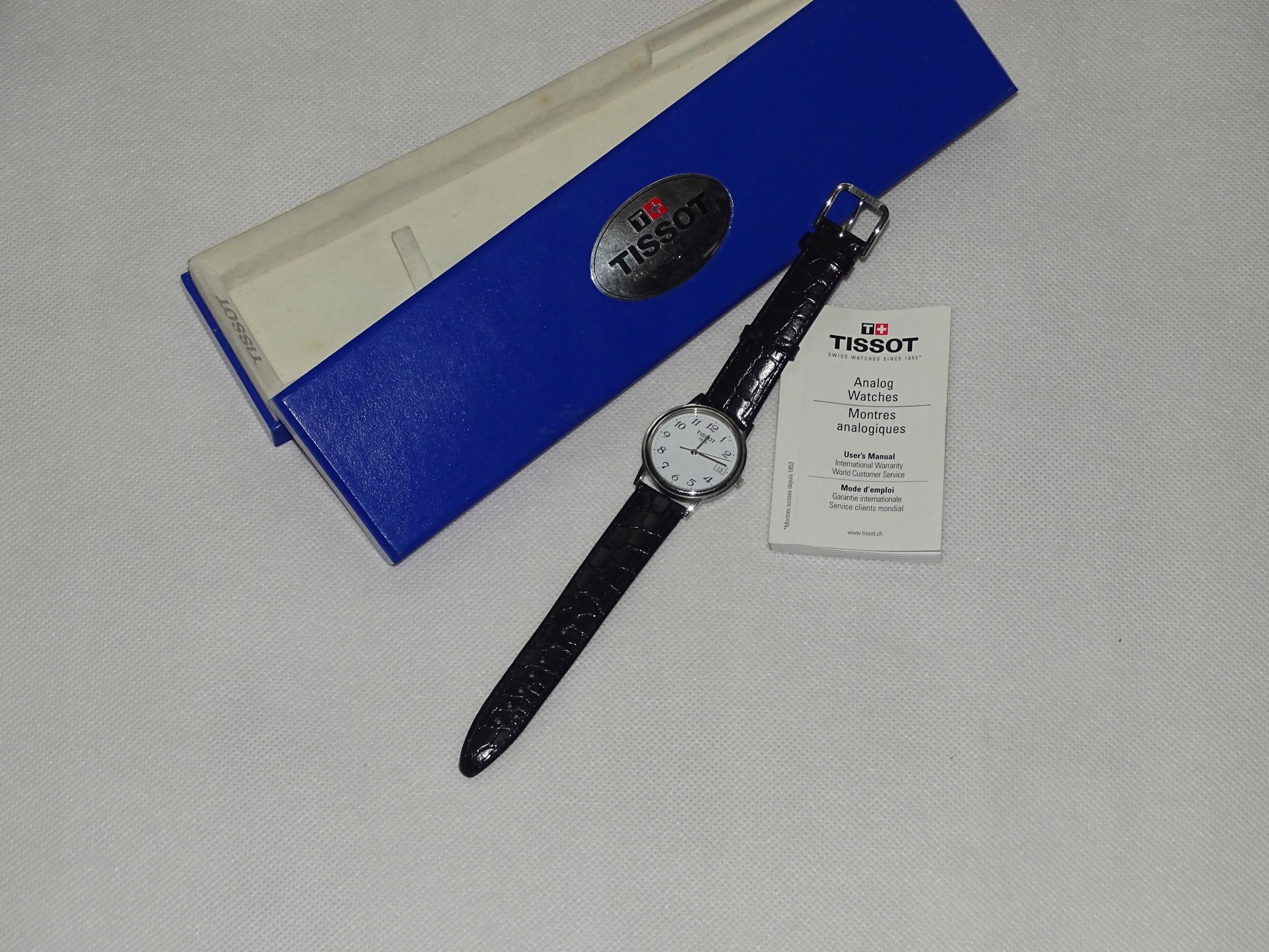 Zegarek TISSOT praktycznie nowy C264/364