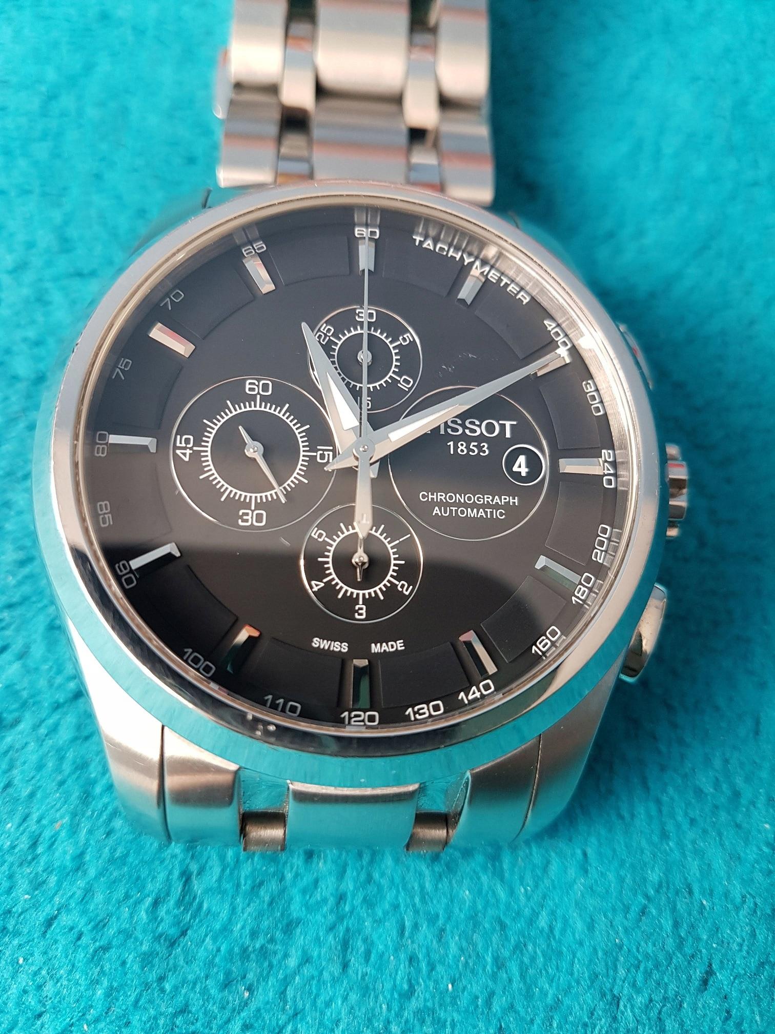 TISSOT COUTURIER AUTOMAT chrono T035.627.11.051.00