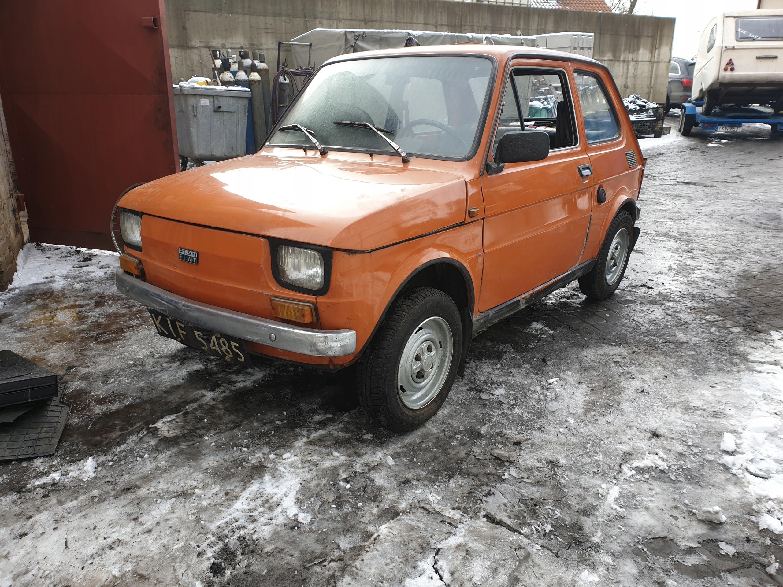 Fiat 126p zabytek pierwszy właściciel zamiana