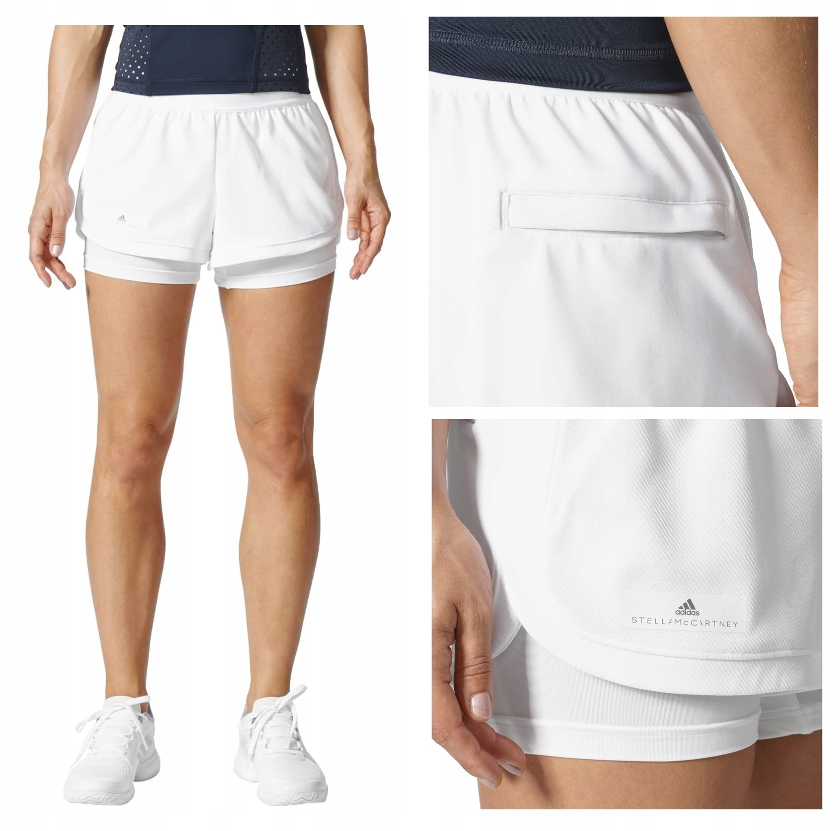Adidas Stella McCartney szorty damskie tenisowe S