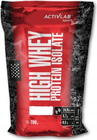 Activlab High Whey Protein Isolate Banan 700g