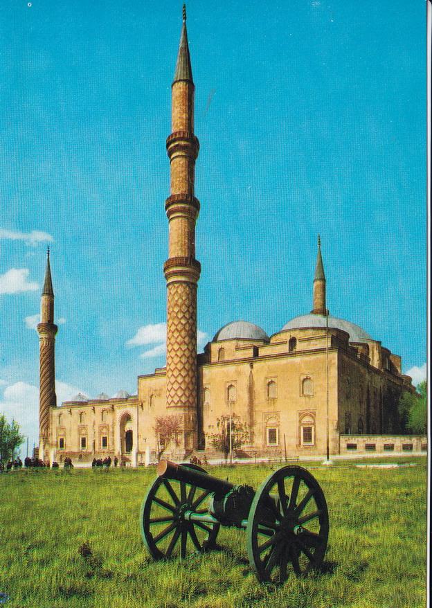 TURCJA - EDIRNE - MECZET - UNESCO - ARMATA
