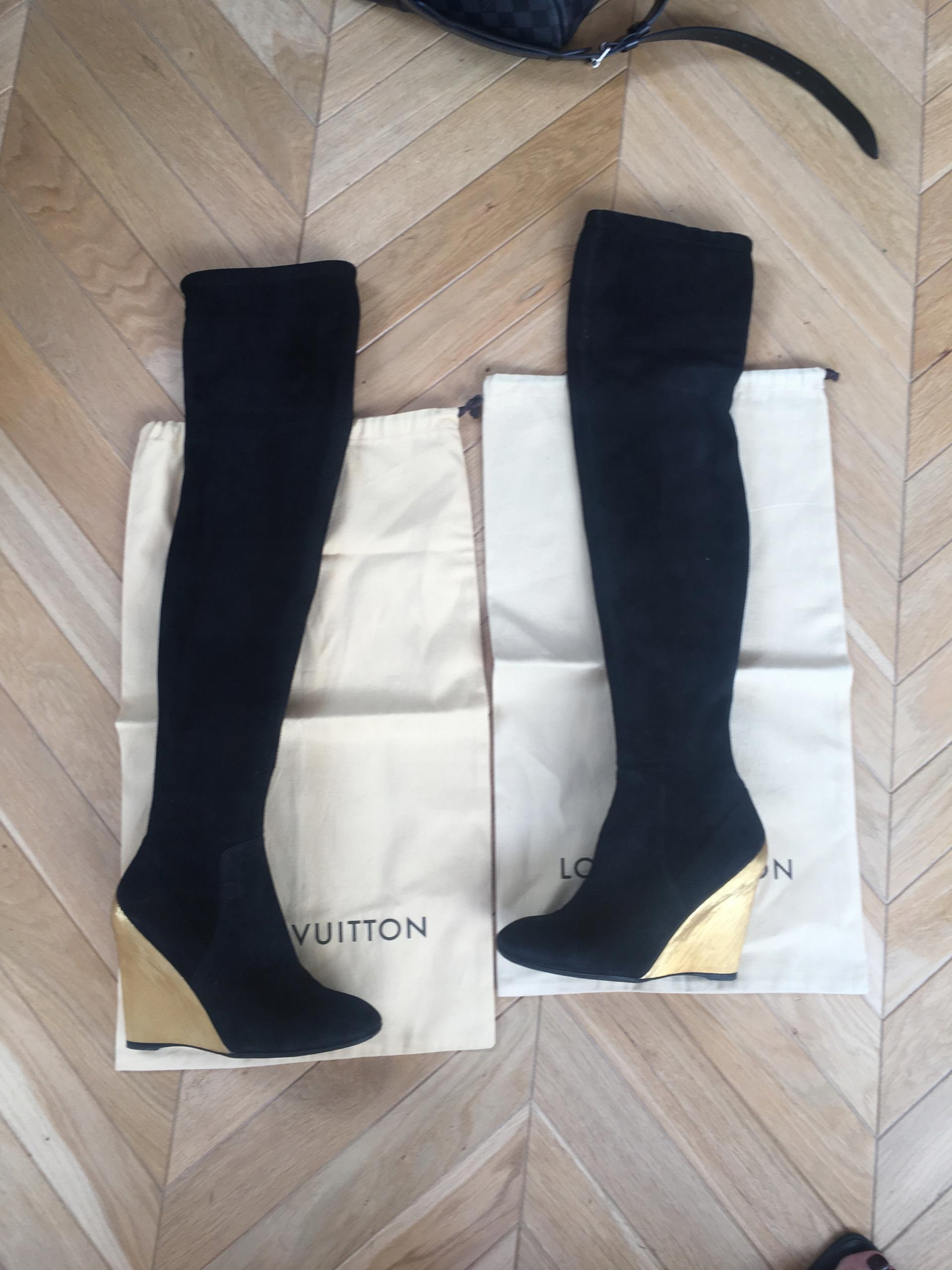 4ebdc603da68a Kozaczki Louis Vuitton oryginał - 7550105627 - oficjalne archiwum ...