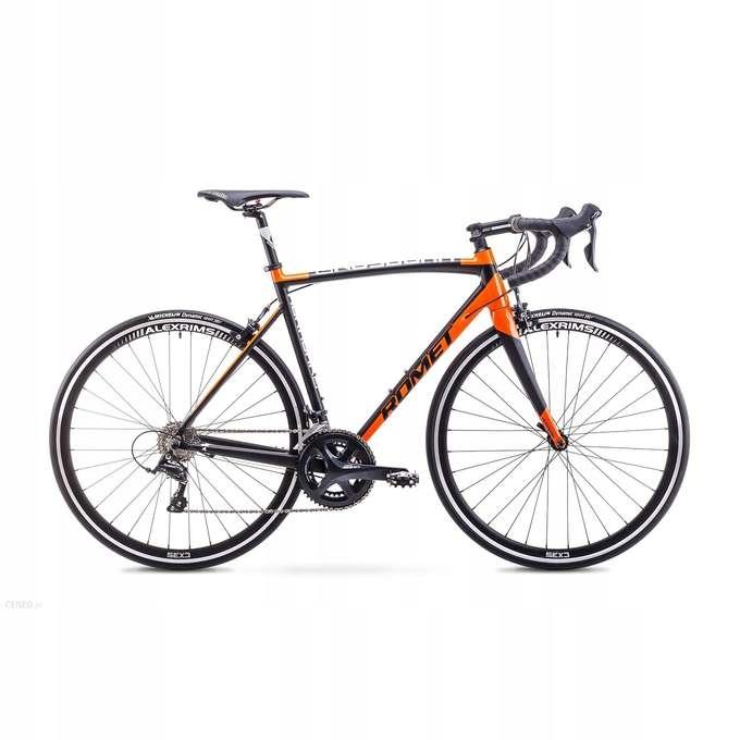 Rower ROMET HURAGAN 3 czarno-pomarańczowy 52 2019