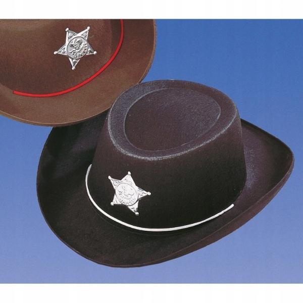 KAPELUSZ KOWBOJ kowbojski dla dzieci szeryf
