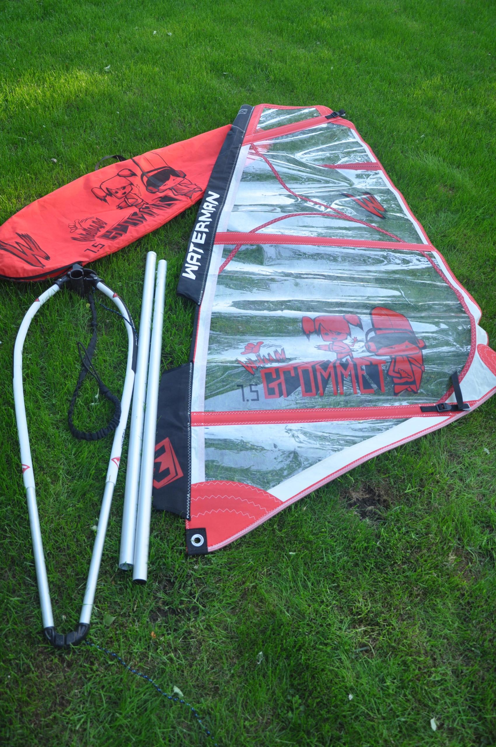 żagiel (pędnik) windsurfing dziecięcy Kraków tanio