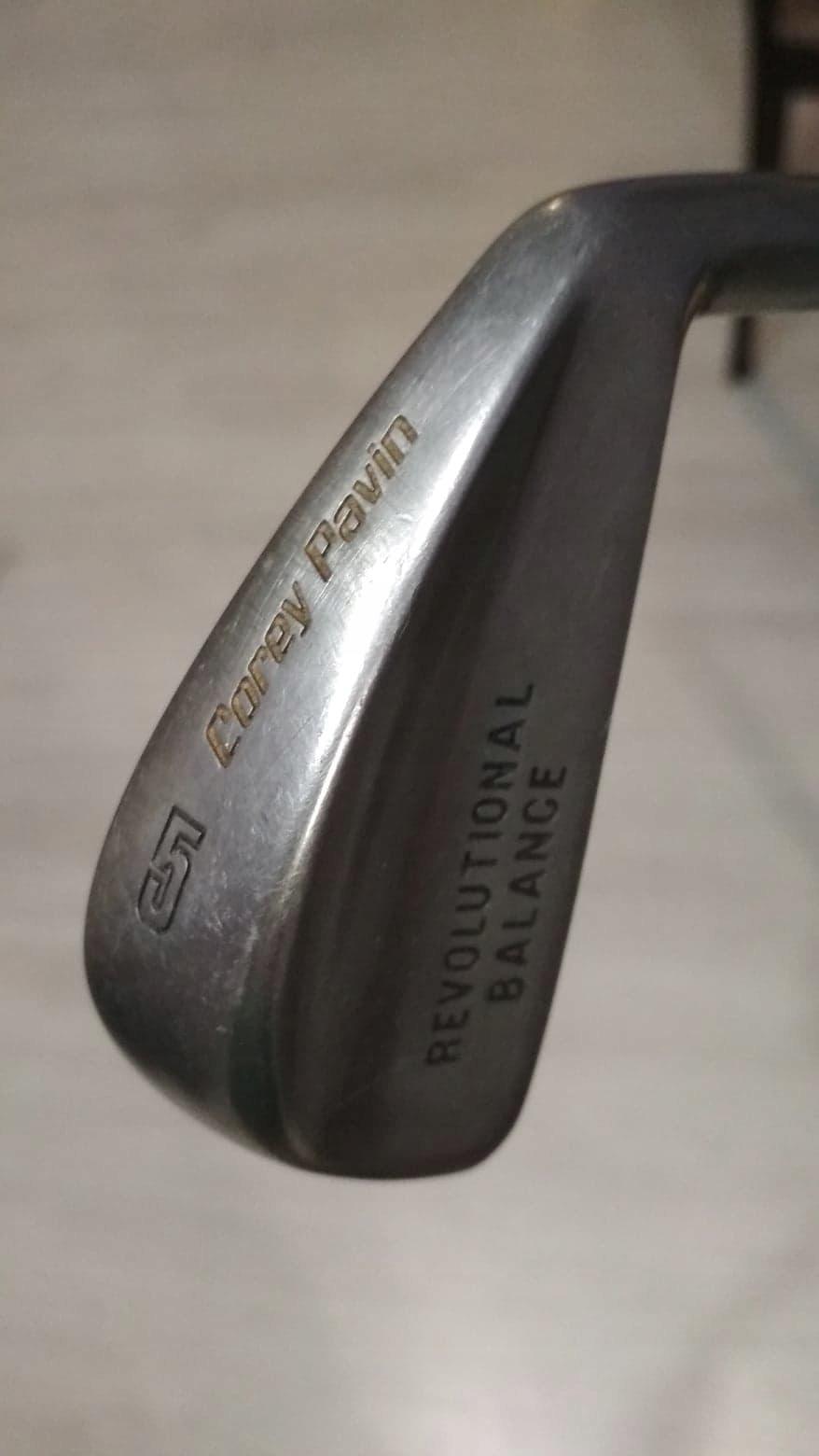 Kij golfowy Corey Pavin Iron 5