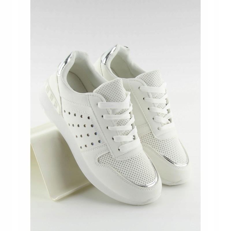 Buty sportowe damskie białe SU12P WHITE 39