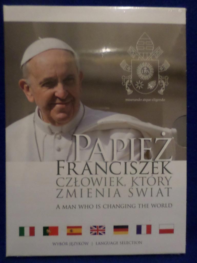 Papież Franciszek Człowiek który zmienia świat DVD
