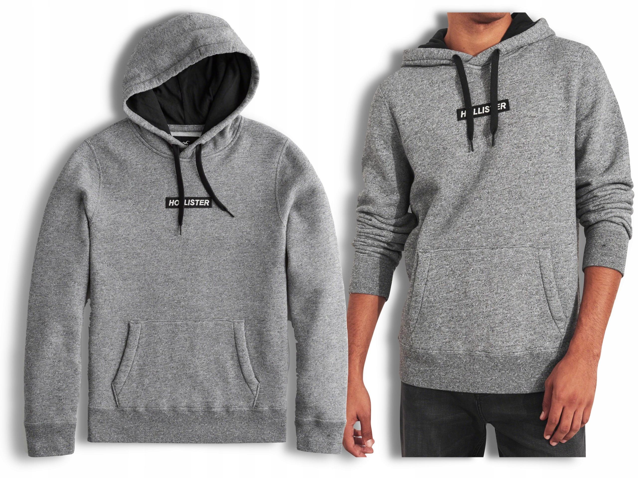 Hollister by Abercrombie Męska Bluza Logo USA M