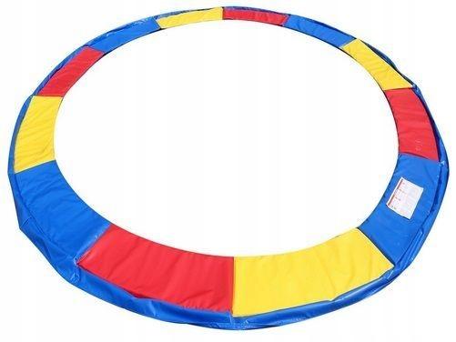 KOLOROWA OSŁONA sprężyn trampoliny 244-250cm 8ft