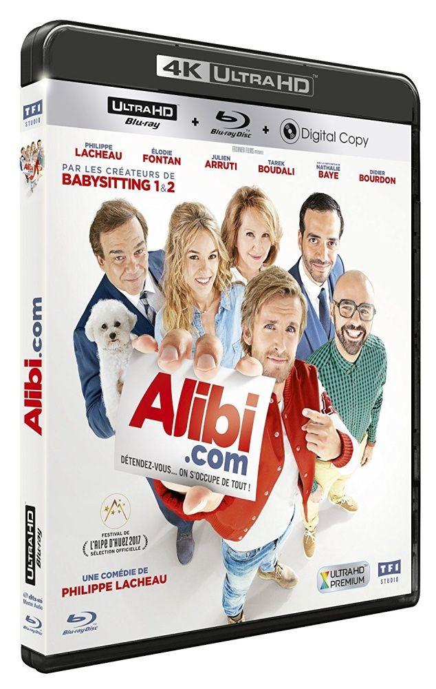 Alibi.com [4K Ultra HD Blu-ray] 2017 /Francja/