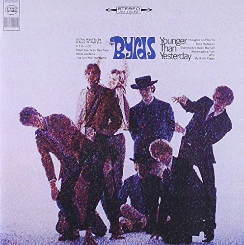 CD Byrds - Younger Than Yesterday Remastered + Bon