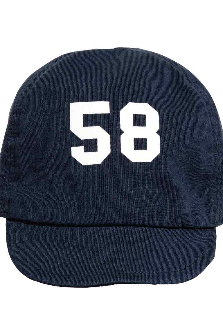 H&M Dżersejowa czapka rozm. 50 cm