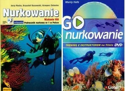 Nurkowanie Podręcznik + GO Trening na DVD