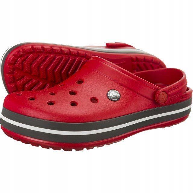 Klapki Męskie Crocs Crocband Pepper Red M10 43/44