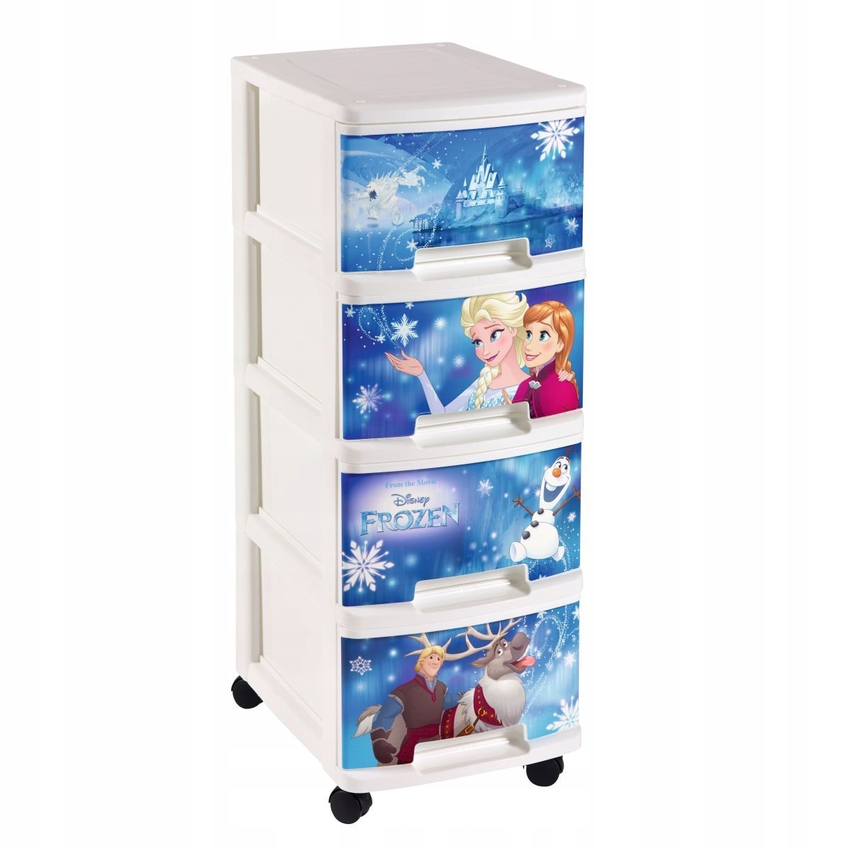 Regał DISNEY Frozen 2 na zabawki 4 szuflady CURVER