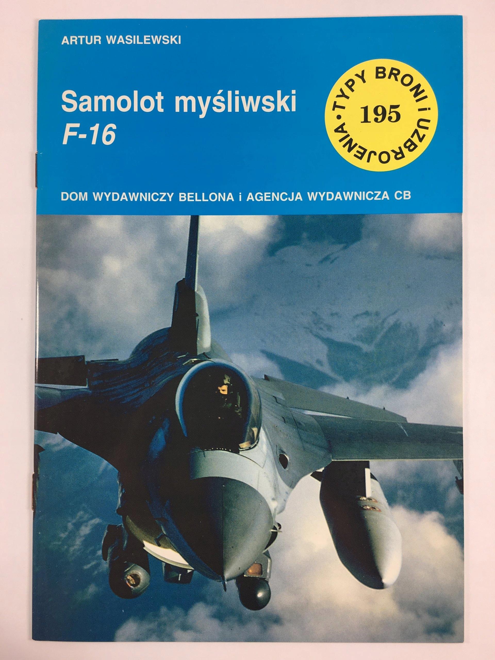 TBiU 195 SAMOLOT MYŚLIWSKI F-16
