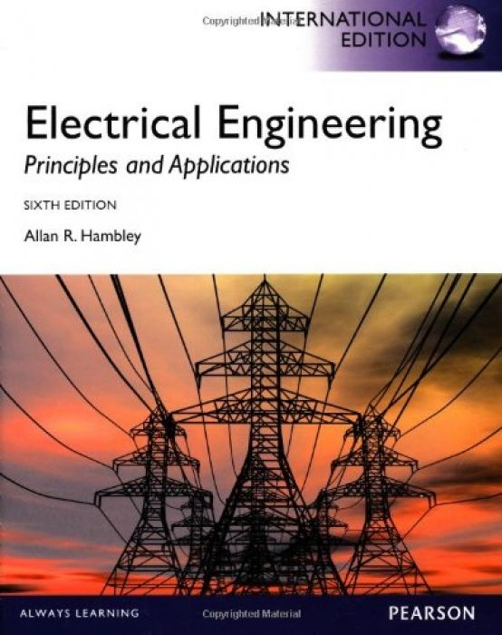 Allan R Hambley Electrical Engineering Principles