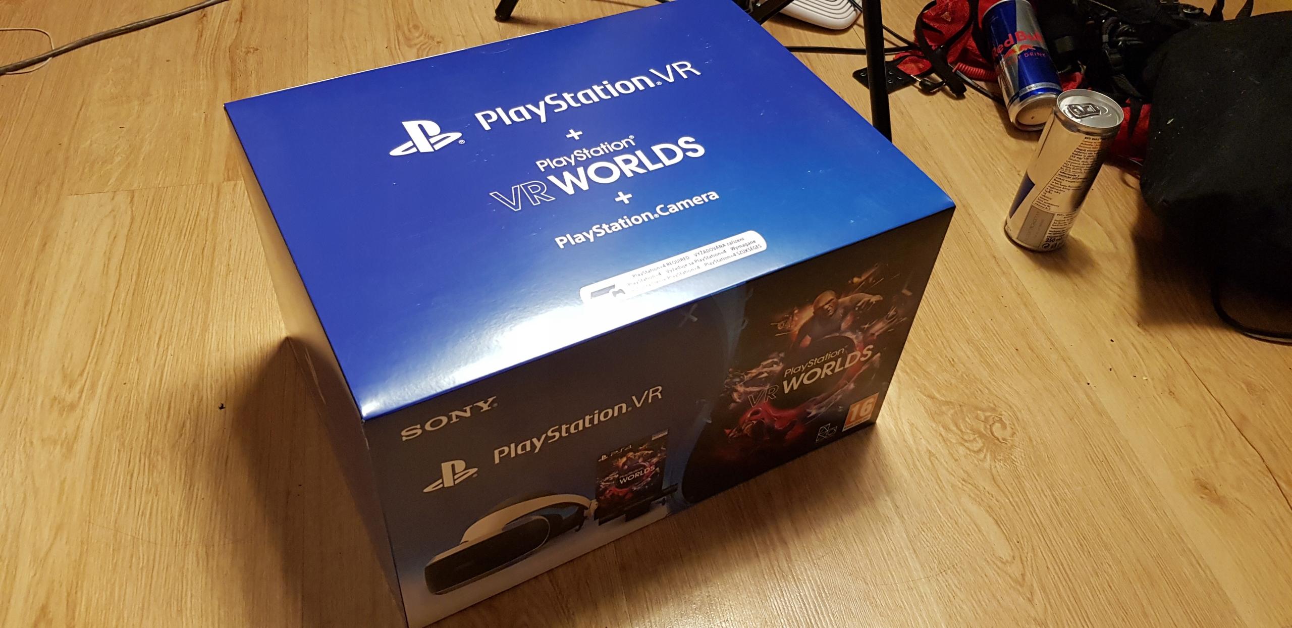 PLAYSTATION VR v2 NOWA google+kamera+gra Worlds