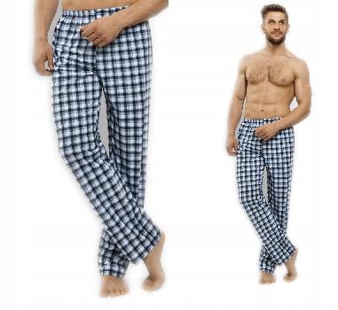 Spodnie piżamowe długie rozmiar L BAWEŁNA 100%