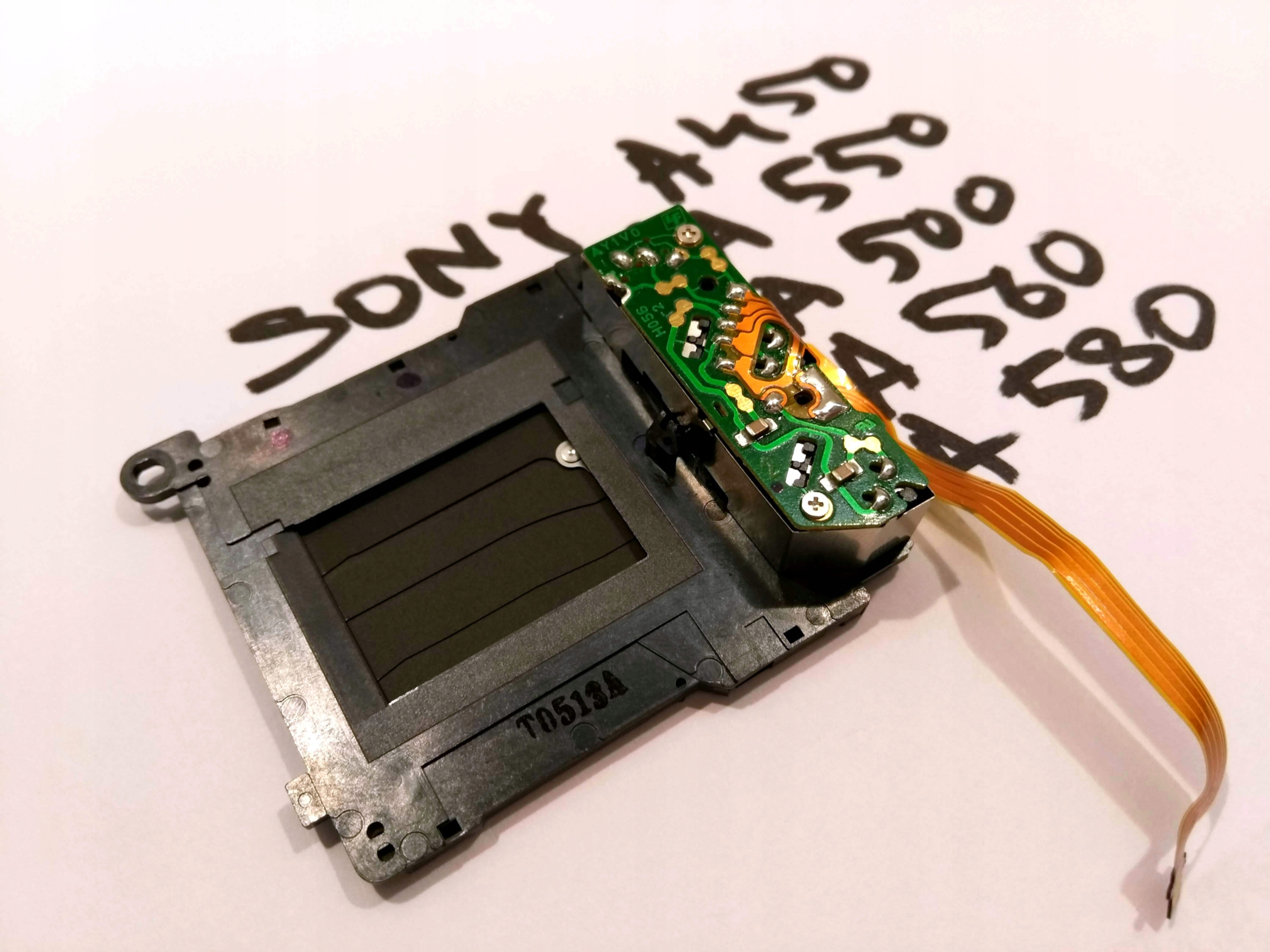 Oryginalna migawka Sony DSLR a450 a550 a560 a580