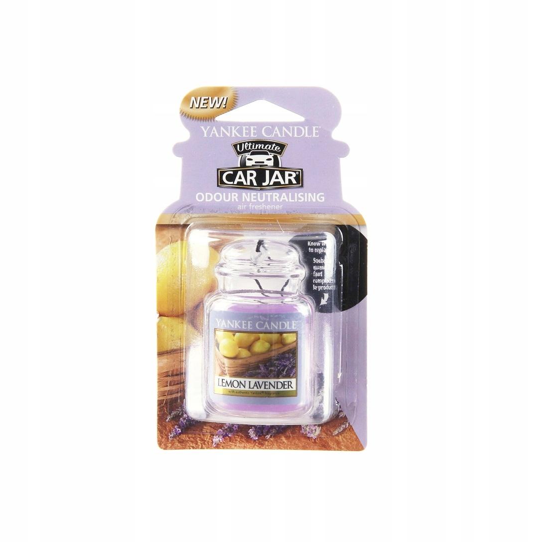 Yankee Candle zapach samochodowy Lemon Lavender 1