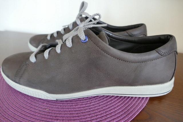 Ecco buty męskie 40 brązowe miejskie jak nowe