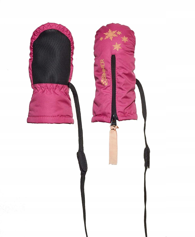 SINNER rękawiczki dla dzieci 0-1 lat 4-J