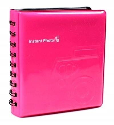 Album na 64 zdjęć Instax mini różowy pink