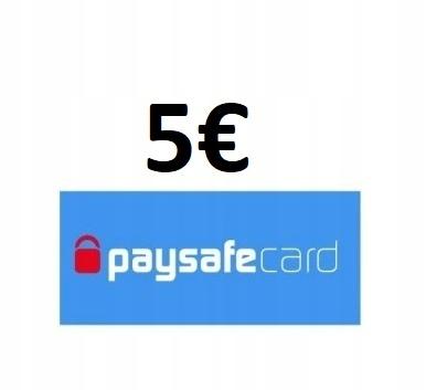 KOD PAYSAFECARD 5 euro