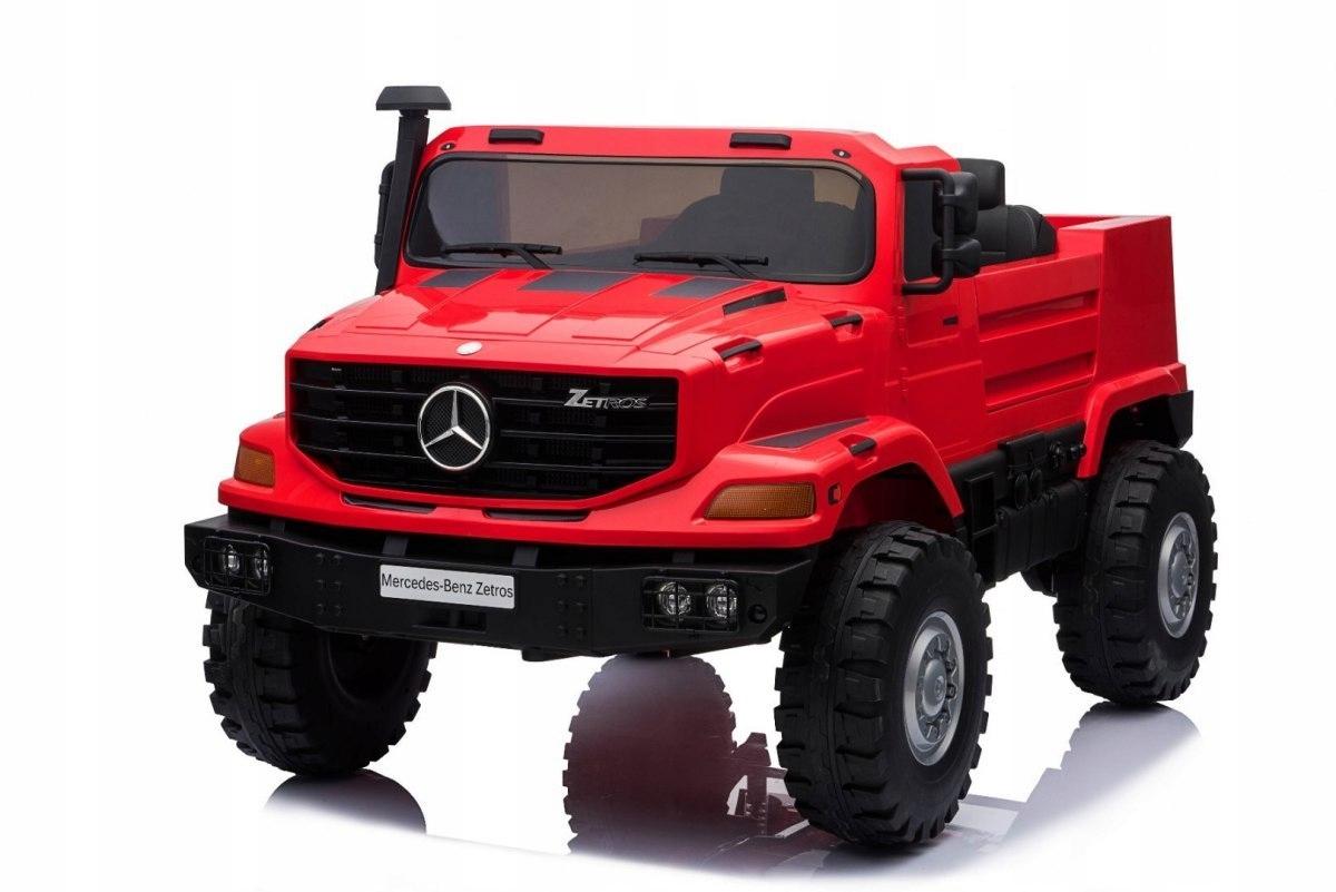 Pojazd Mercedes-Benz Zetros Czerwony