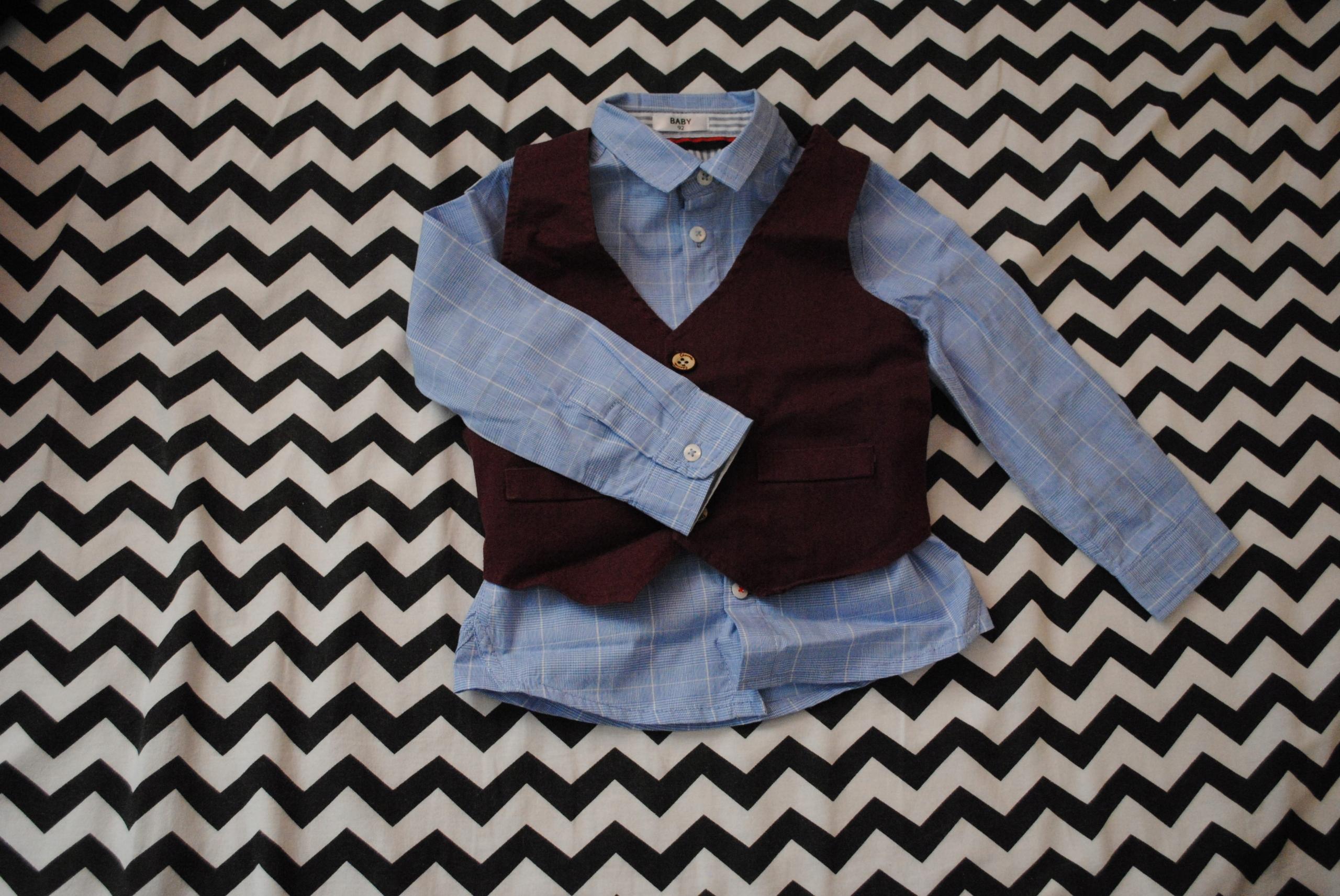 Elegancka kamizelka + spodnie na różne okazje r.92