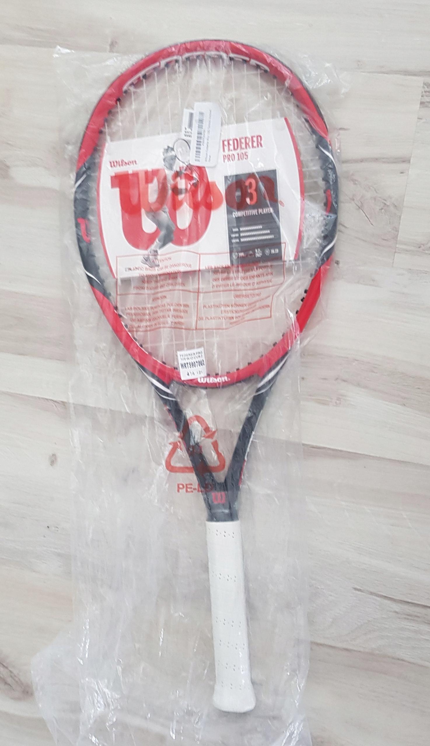Rakieta Tenisowa WILSON Federer Pro 105 BLX