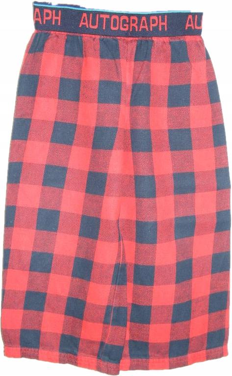 M&S flanelowe spodnie piżamowe 98 cm