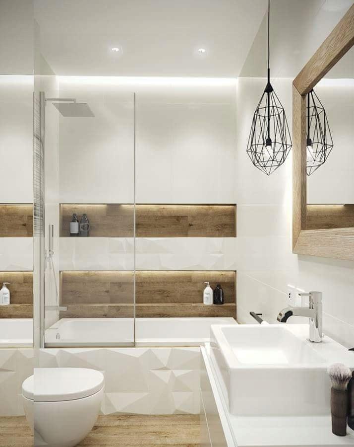 Projektownie Wnetrz Projekt łazienki Wizualizacja