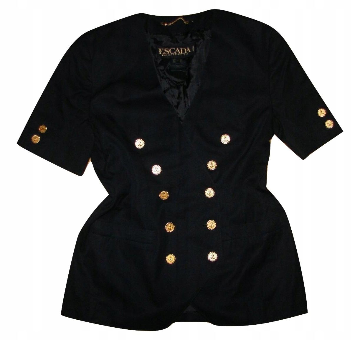 ESCADA exclusive vintage płaszczyk-żakiet 40 BDB+