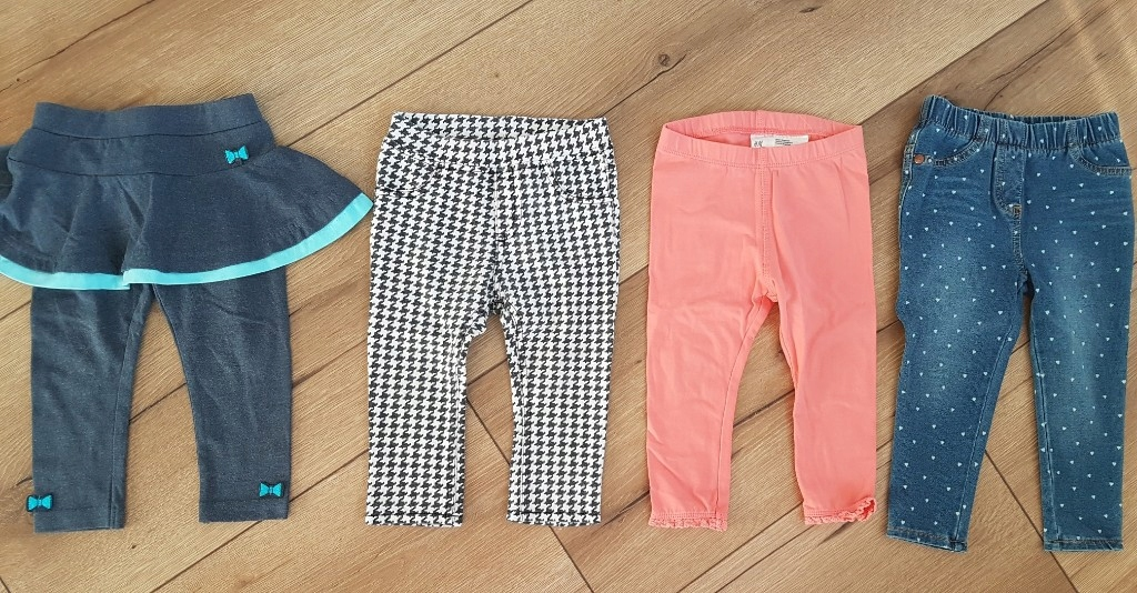 spodnie legginsy 80