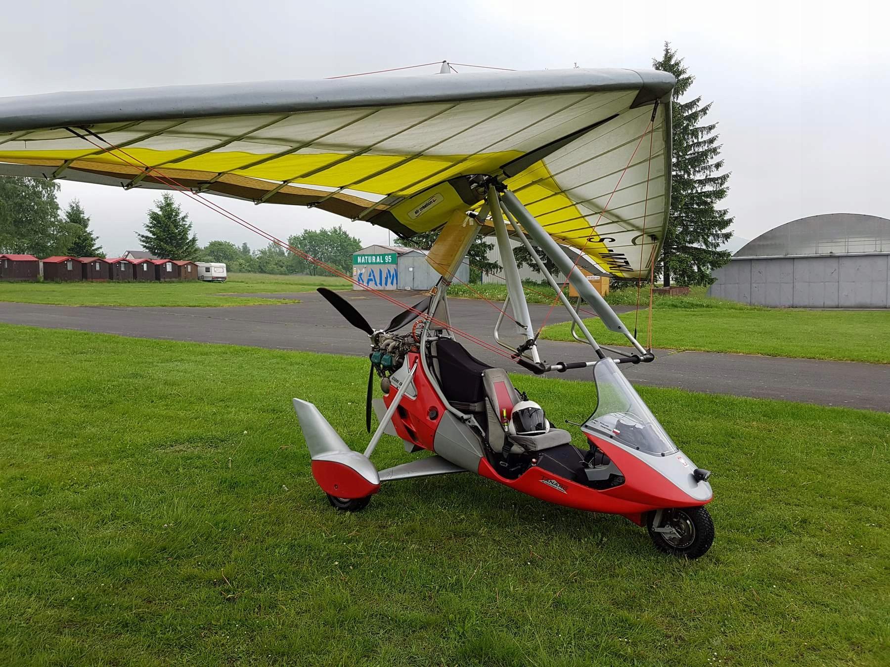 Motolotnia Tanarg 912ES +, silnik, bez skrzydła