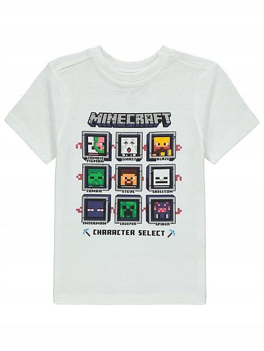 T-shirt MINECRAFT 140 , 9-10 L