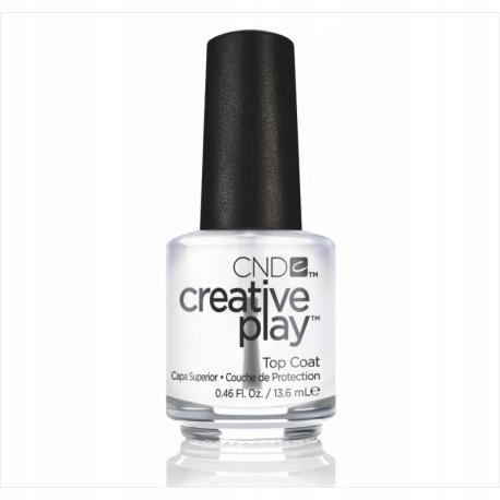 CND Creative Play TOP Coat 13,6ml nawierzchniowy