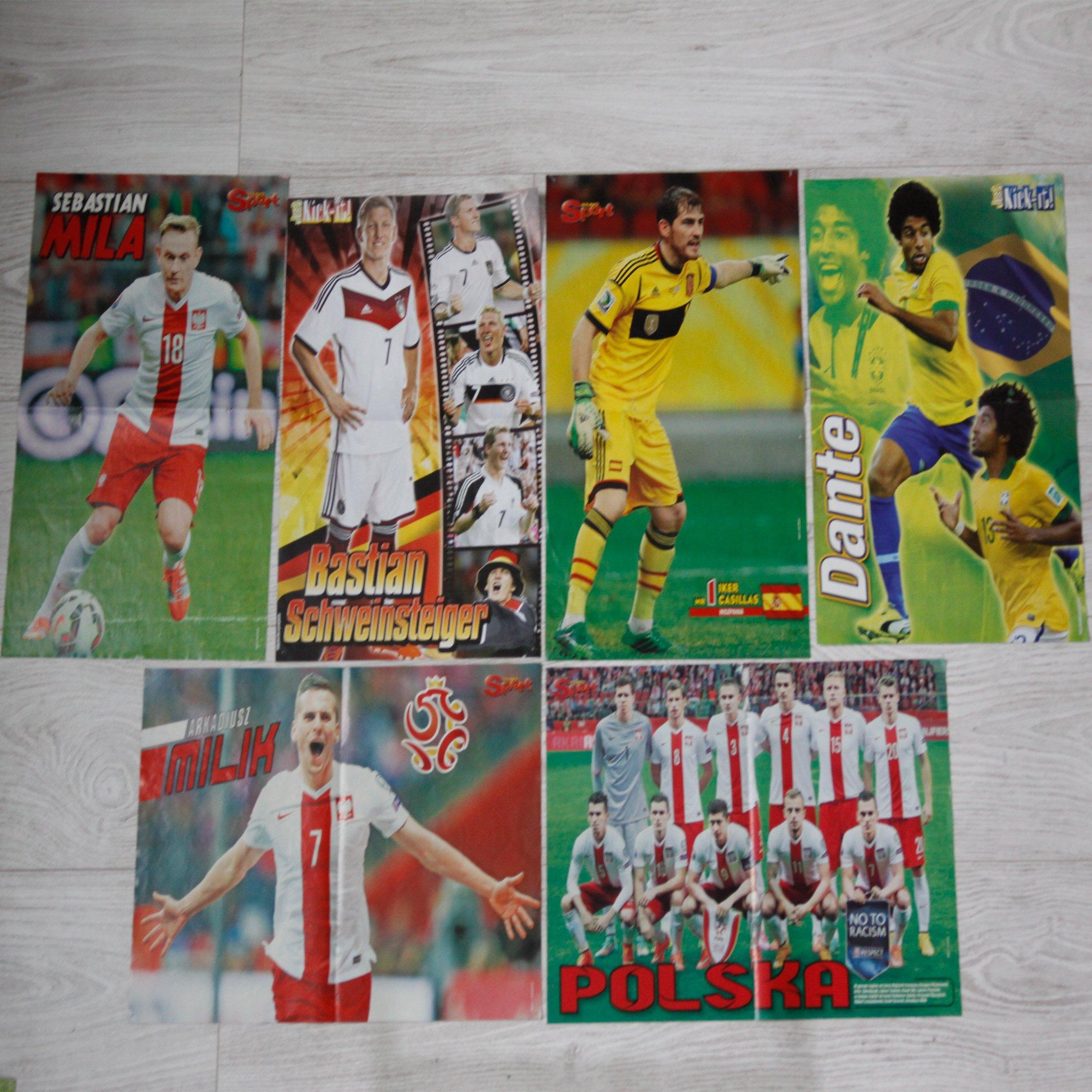 Plakaty piłkarskie różne (reprezentacyjne)