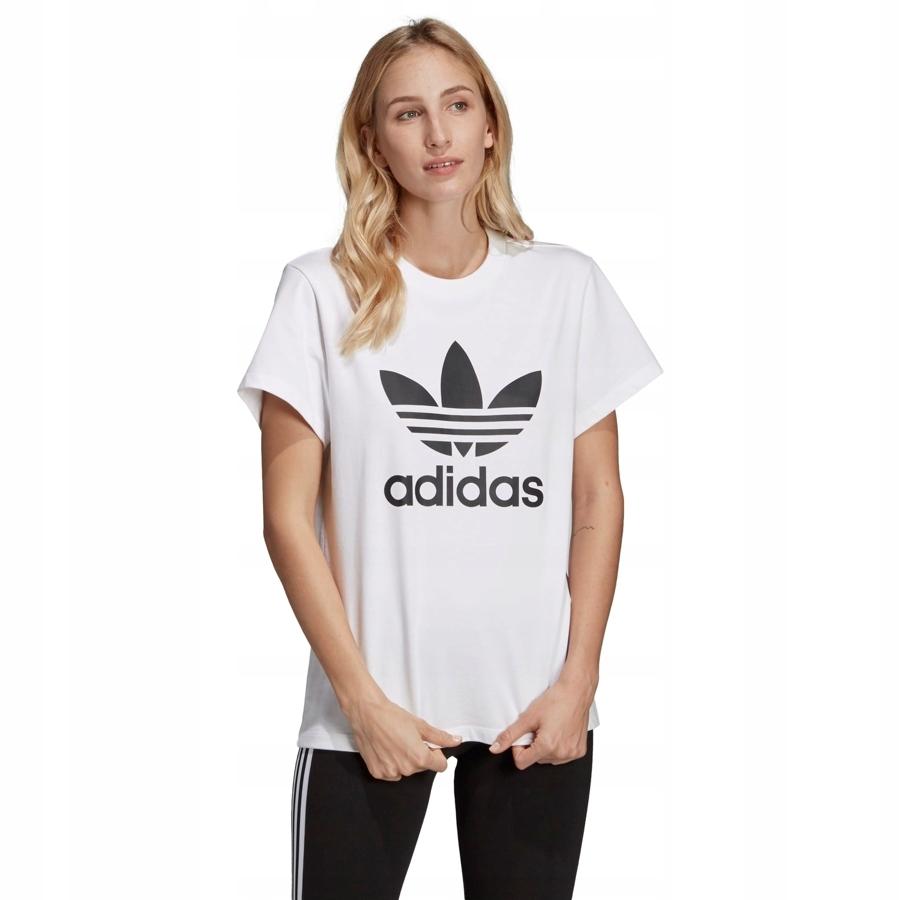 Koszulka Damska ADIDAS ORIGINALS BOYFRIEND TREFOIL TEE biała
