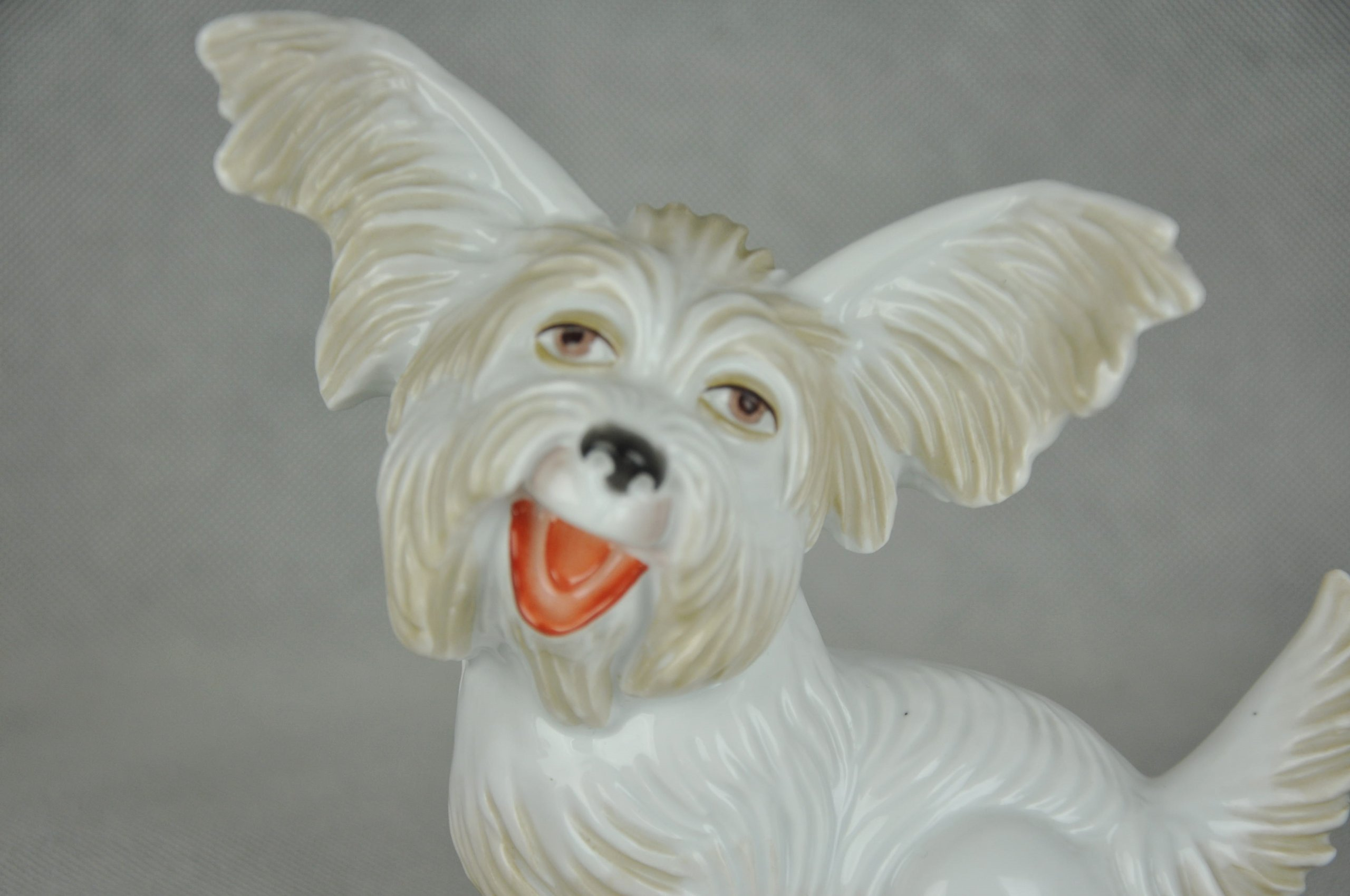 Unikat Figura Rosenthal Terrier Fifi Groteska 1929