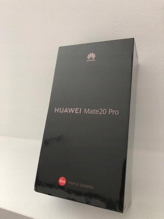 Huawei Mate20 Pro 128gb nowy zafoliowany okazja!!